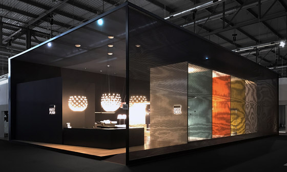 Exhibition | Space design by Dresswall | Privacy screen