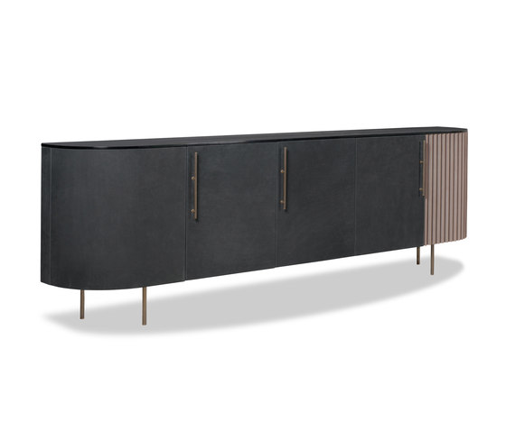 PLISSÉ Low cabinet by Baxter | Sideboards