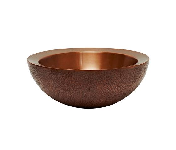 Vintage Collection | Truro Countertop Copper Wash Basin by BAGNODESIGN | Wash basins