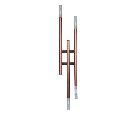 UGO Three tubes applique by Baxter | Wall lights
