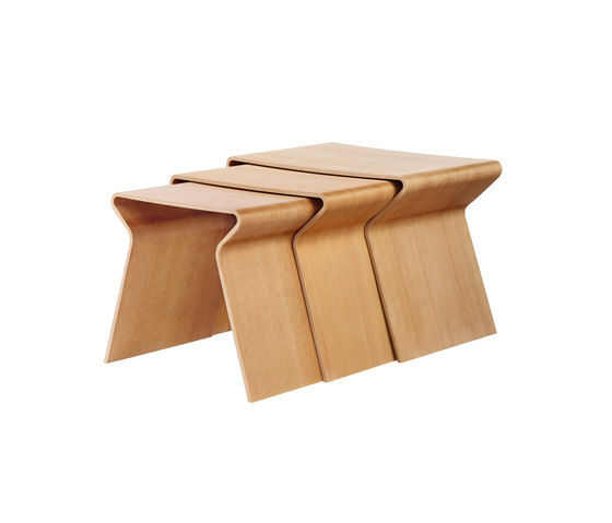 GJ Nesting Table de Lange Production | Mesas auxiliares