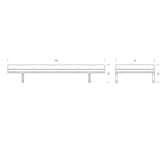 HB 6915 Daybed de Lange Production | Lits de repos / Lounger