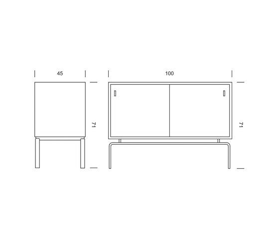 FK 100 Sideboard by Lange Production | Sideboards
