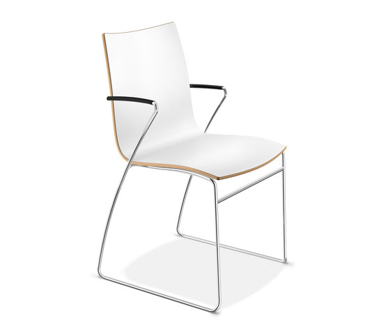 Onyx I  2244/10 by Casala | Visitors chairs / Side chairs