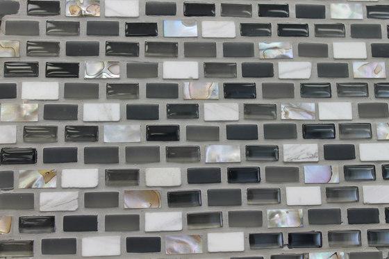 Sea Jewel Dusk by Cancos   Glass mosaics