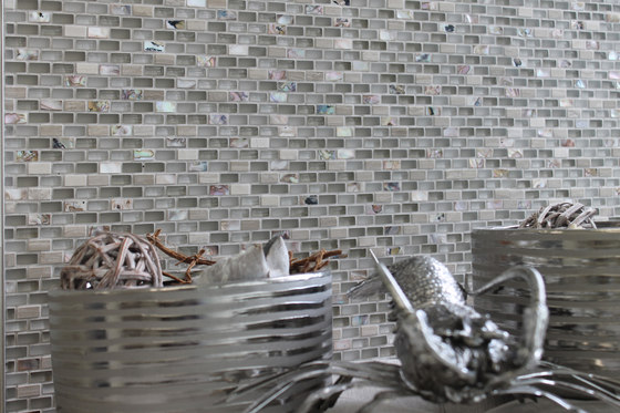 Sea Jewel Silver by Cancos | Glass mosaics