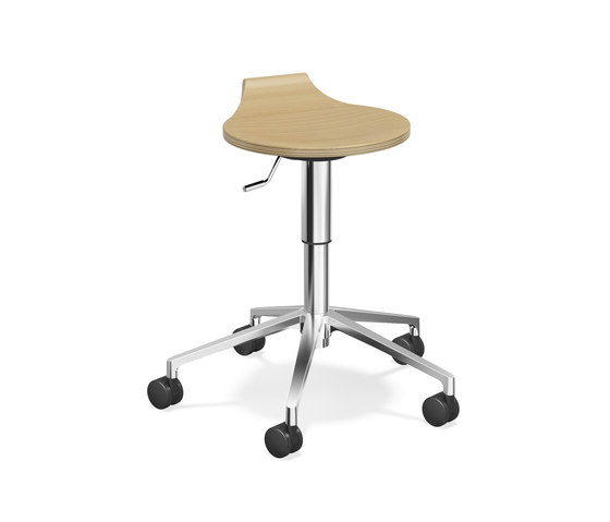 Ravelle V  1556/05 by Casala | Swivel stools