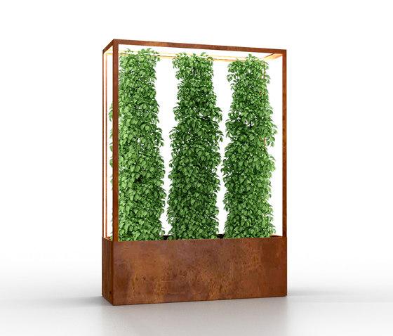 Cube Wall 1600 di lasfera | Pannelli frangivista