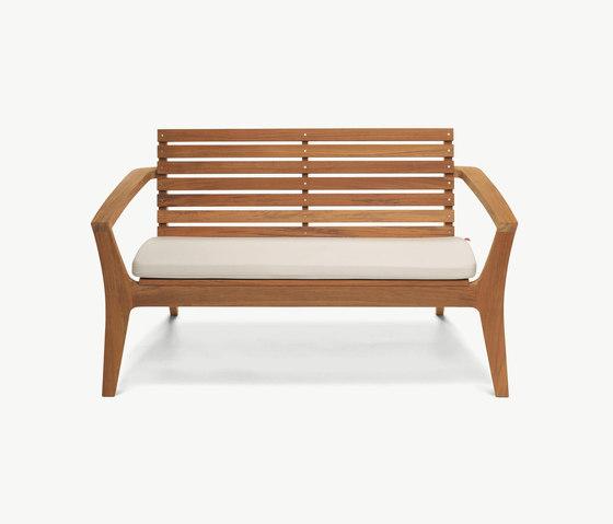Regatta Lounge Bench von Skagerak | Gartenbänke