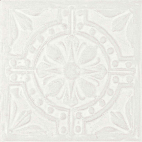 Voyager Ceiling White by Refin | Ceramic tiles