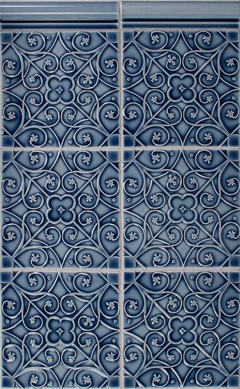Filigree Series de Pratt & Larson Ceramics | Carrelage céramique