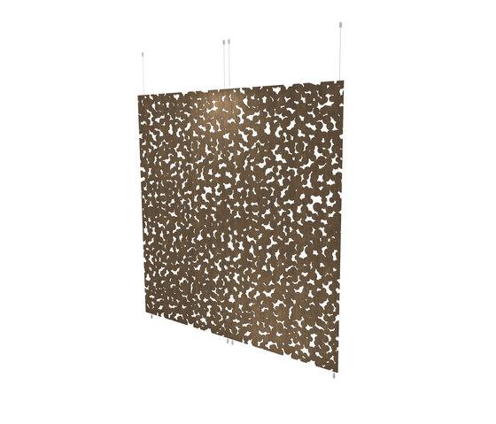 Organic screens | close dots de Piegatto | Separación de ambientes