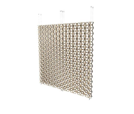 Geometric screens   cubes de Piegatto   Separación de ambientes