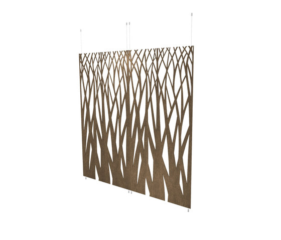 Organic screens | curved branches by Piegatto | Space dividing systems