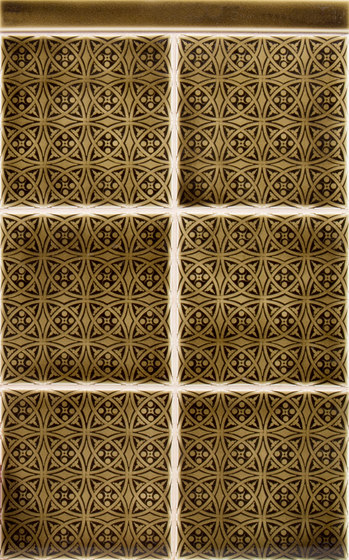 Embossed Series von Pratt & Larson Ceramics | Keramik Fliesen