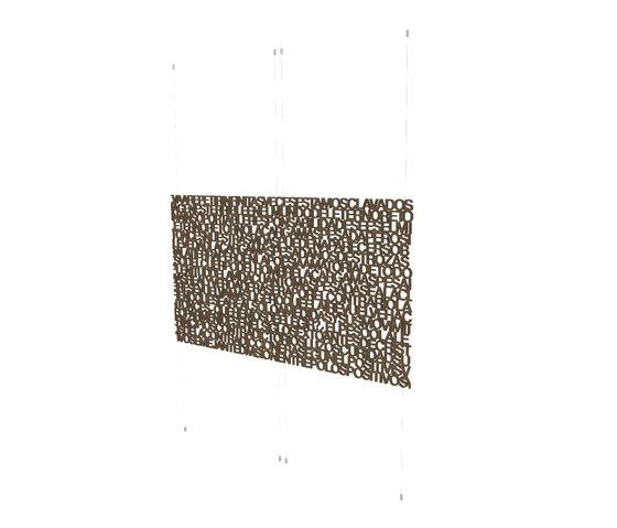 Geometric screens | text screen de Piegatto | Separación de ambientes