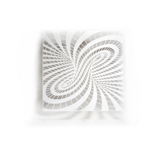 Parametric screens | torus by Piegatto | Sound absorbing suspended panels