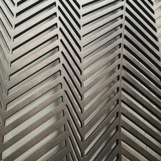 Geometric screens   zig-zag by Piegatto   Space dividing systems