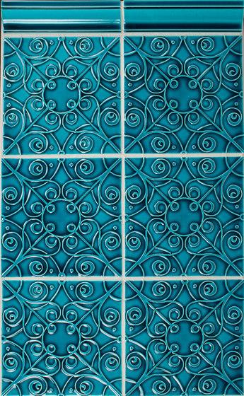 Filigree Series von Pratt & Larson Ceramics | Keramik Fliesen