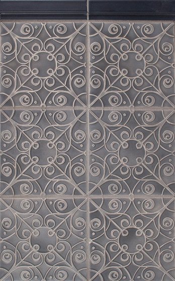 Filigree Series de Pratt & Larson Ceramics | Carrelage céramique
