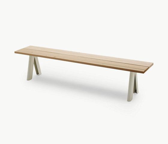 Overlap Bench by Skagerak | Garden benches