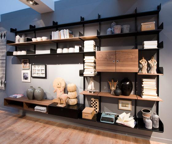 K1 Bookshelf by Kriptonite | Wall storage systems