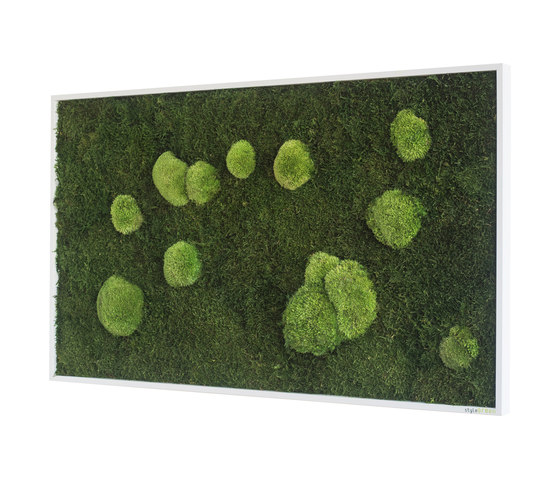 moss picture | pole and forest moss picture 100x60cm by styleGREEN | Living / Green walls