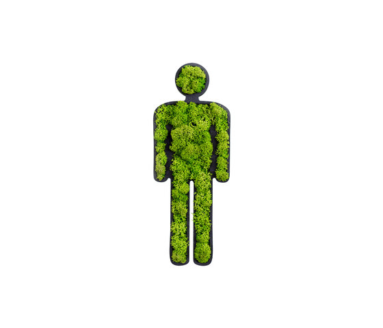 "pictogram | toilet sign ""man"" 25 cm de styleGREEN 