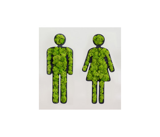 "pictogram | toilet sign "" couple"" 25 cm de styleGREEN | Pictogramas"