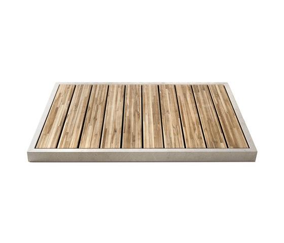 Ishiburo shower tray by Salvatori | Linear drains