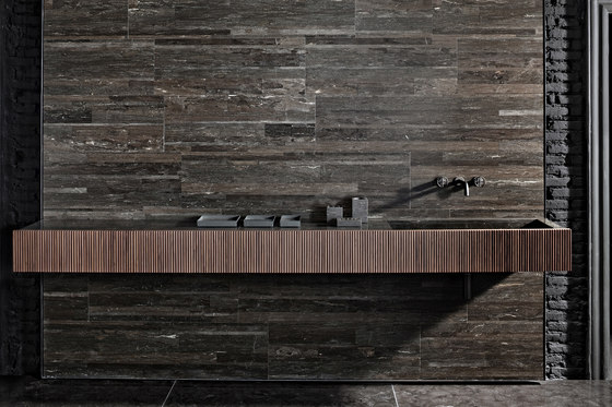 Adda Wall-mounted Basin by Salvatori | Wash basins