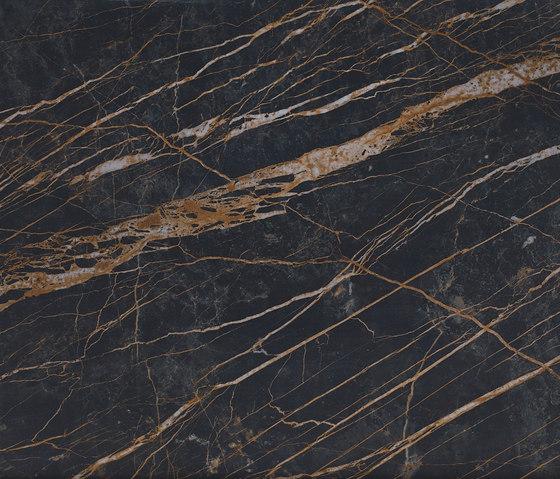 Laminam Cava Nero Greco Polished von Crossville | Keramik Platten
