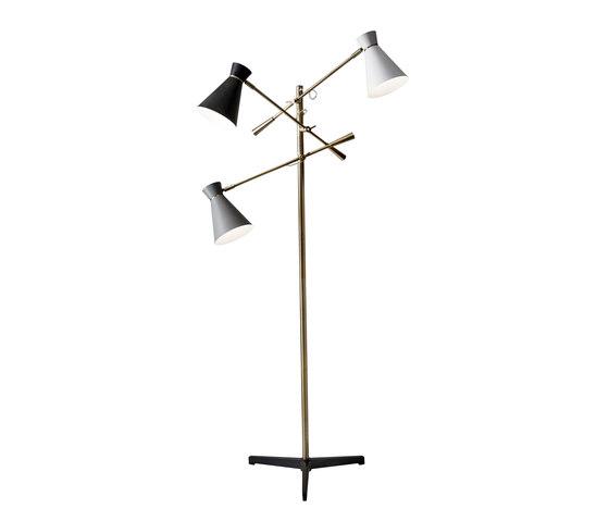 Lyle 3-Arm Floor Lamp de ADS360 | Luminaires sur pied