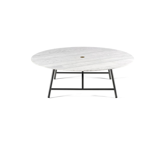 W Coffee Table Ø90 cm (35) von Salvatori | Couchtische