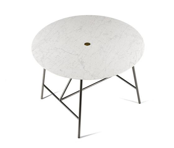 W Dining Table Ø120 cm de Salvatori | Tables de repas