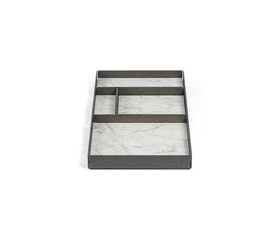 Fontane Bianche Modular trays by Salvatori | Bath shelves