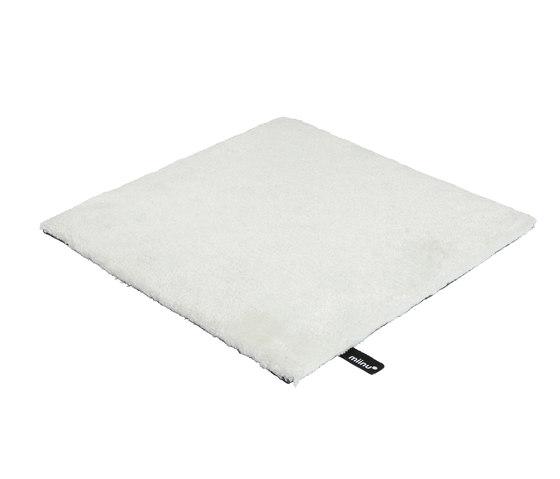 Finery bright white von Miinu | Formatteppiche / Designerteppiche