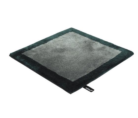 Finery frame balsam green von Miinu | Formatteppiche / Designerteppiche