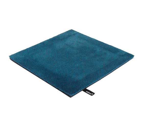 Tribes squared 16 mosaic blue by Miinu | Rugs