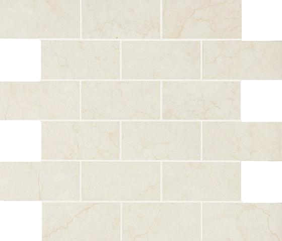 Anthology Marble Mosaico Wall Luxury White de EMILGROUP   Mosaïques céramique