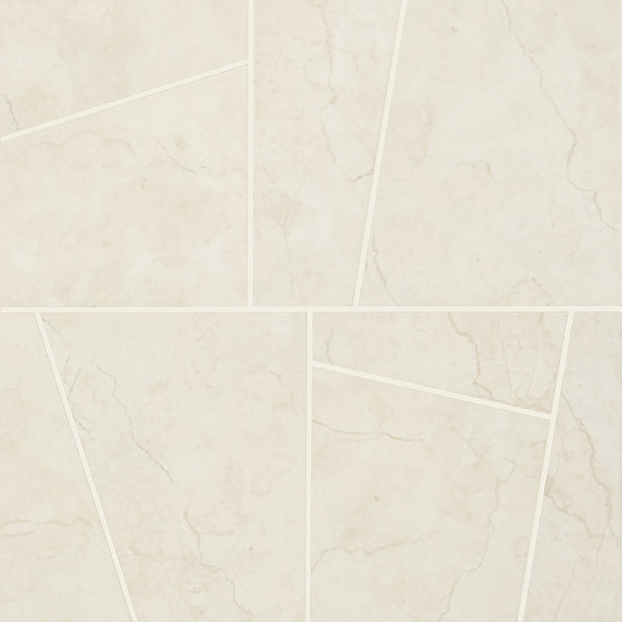 Anthology Marble Mosaico Trend Luxury White by EMILGROUP | Ceramic mosaics