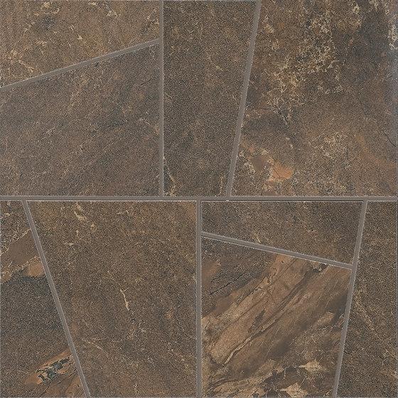 Anthology Marble Mosaico Trend Wild Copper de EMILGROUP | Mosaïques céramique