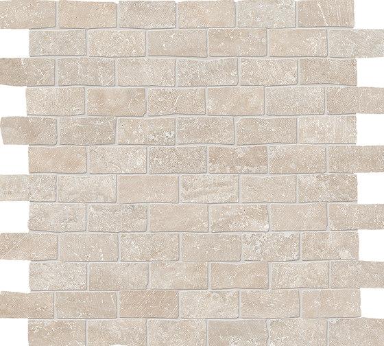Eterna Mosaico Appia Beige de EMILGROUP | Mosaïques céramique