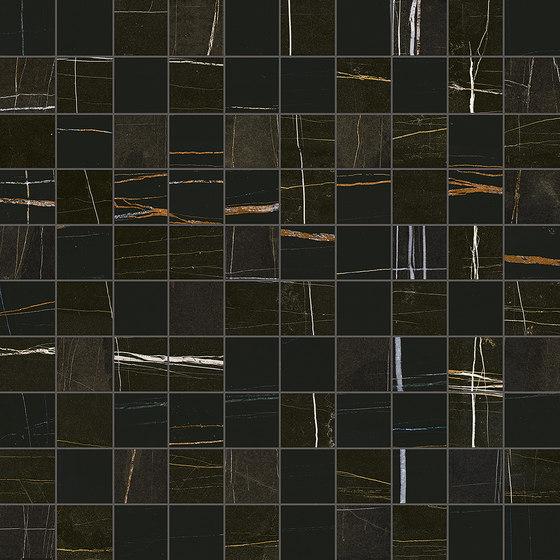 Marmore Mosaico Bernini Nero de EMILGROUP | Mosaicos de cerámica
