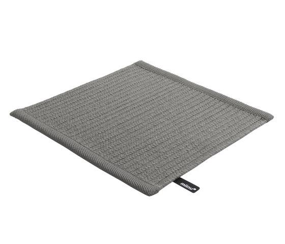 Visia steel gray von Miinu | Formatteppiche