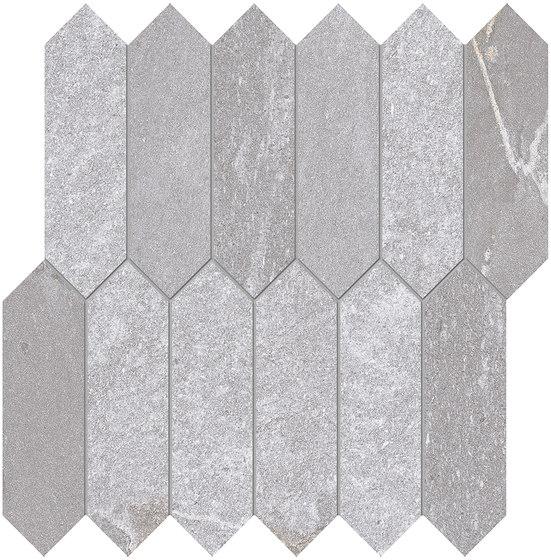 Tracce Mosaico Arrows Grey de EMILGROUP | Mosaicos de cerámica