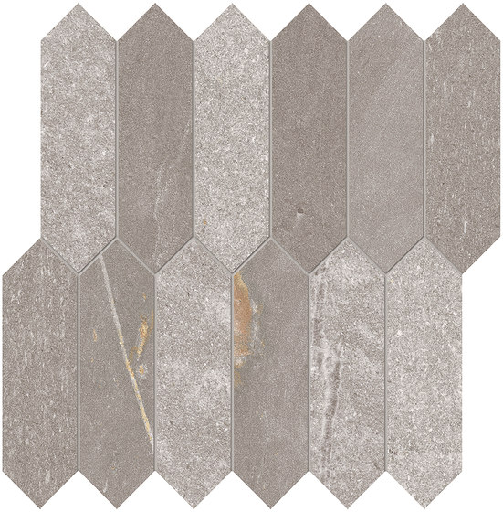 Tracce Mosaico Arrows Taupe by EMILGROUP | Ceramic mosaics