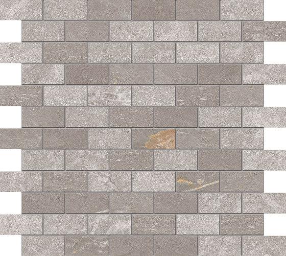 Tracce Mosaico Domino Taupe di EMILGROUP | Mosaici ceramica