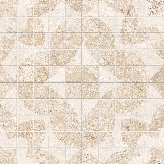 Vie Della Mosaico Decorato Avorio by EMILGROUP   Ceramic mosaics