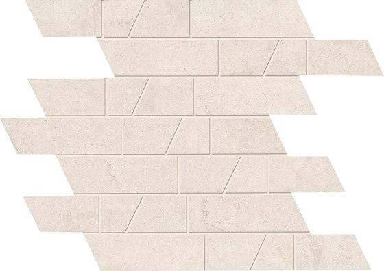 Stone Box Muretto Sugar White by EMILGROUP | Ceramic mosaics